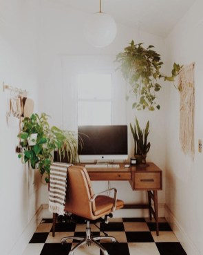 Gorgeous Traditional Small Home Office Design Ideas For You To Have 07