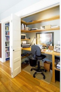 Gorgeous Traditional Small Home Office Design Ideas For You To Have 13