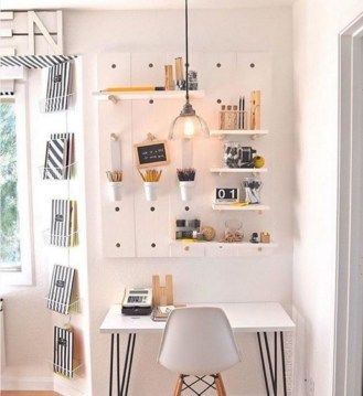 Gorgeous Traditional Small Home Office Design Ideas For You To Have 17