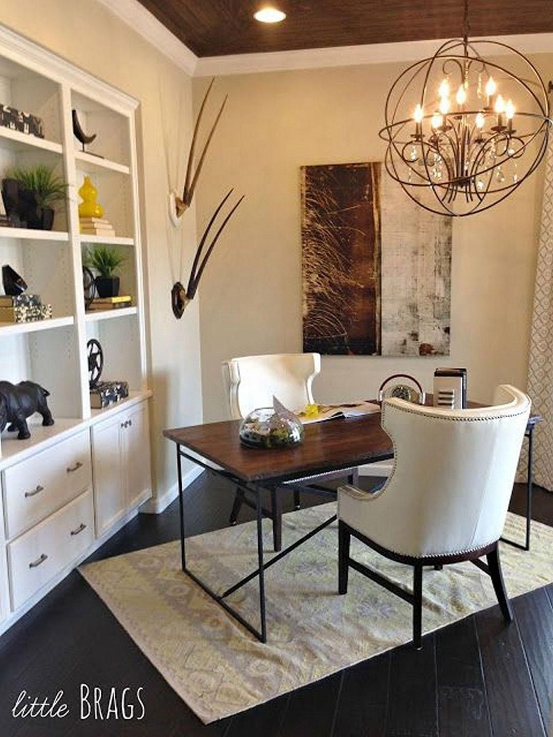 Gorgeous Traditional Small Home Office Design Ideas For You To Have 25