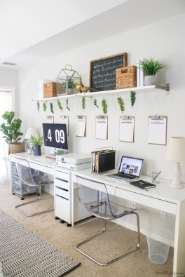 Gorgeous Traditional Small Home Office Design Ideas For You To Have 26