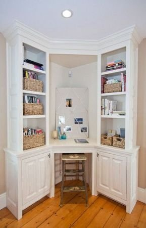 Gorgeous Traditional Small Home Office Design Ideas For You To Have 33