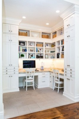 Gorgeous Traditional Small Home Office Design Ideas For You To Have 44