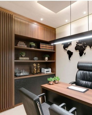 Gorgeous Traditional Small Home Office Design Ideas For You To Have 45