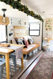 Incredible Rv Motorhome Interior Design Ideas For Summer Holiday 05