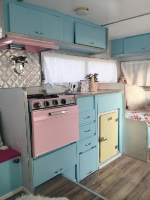 Incredible Rv Motorhome Interior Design Ideas For Summer Holiday 17