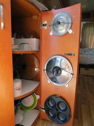 Magnificient Camper Storage Design Ideas You Must Know And Have 34
