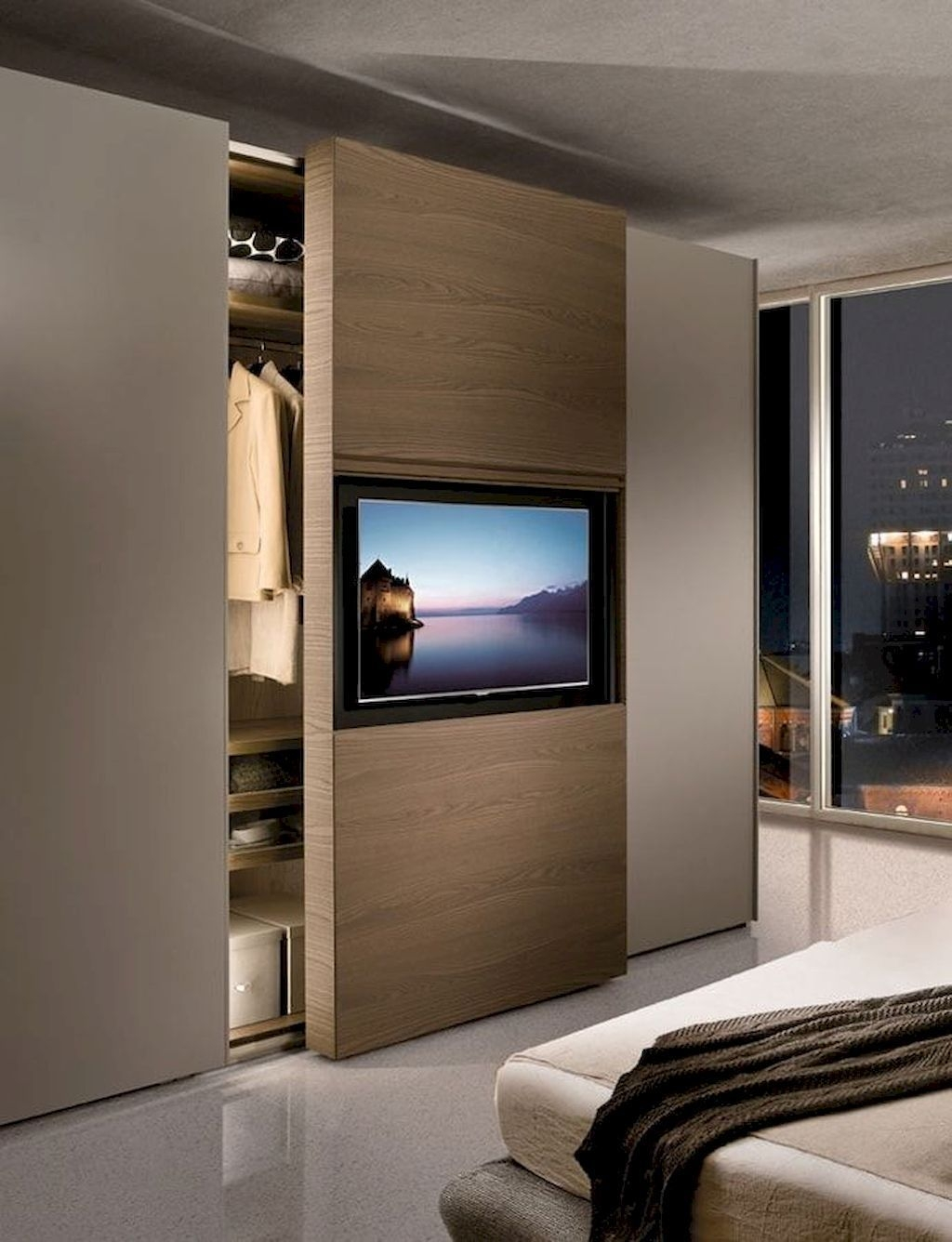 Marvelous Bedroom Cabinet Design Ideas For Your Home Inspiration 17