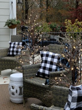 Popular Winter Patio Decorating Ideas To Try Asap 09