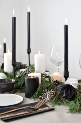 Wonderful Black Christmas Decorations Ideas That Amaze You 18