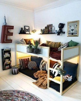 Adorable Bedroom Kids Design Ideas That Looks So Funny 16