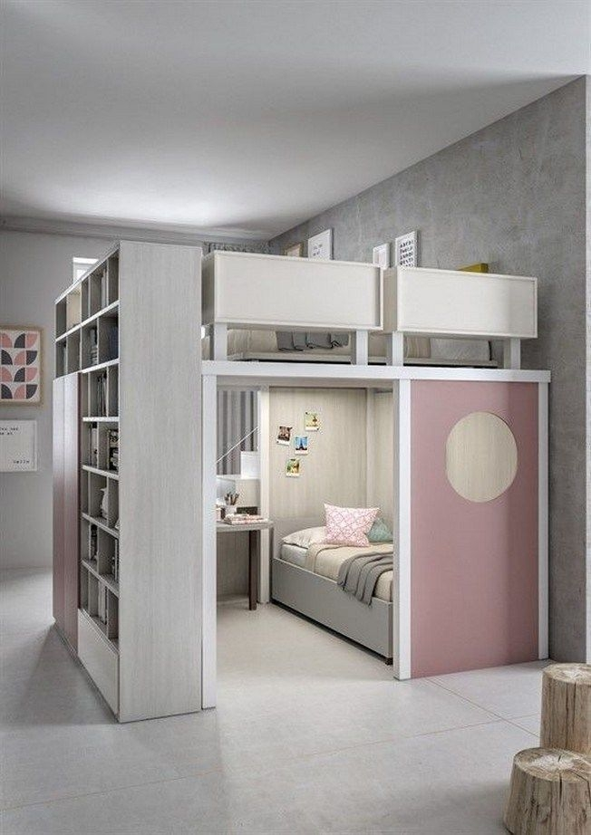 Adorable Bedroom Kids Design Ideas That Looks So Funny 19