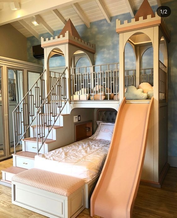 Adorable Bedroom Kids Design Ideas That Looks So Funny 40