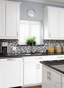 Affordable Kitchen Wall Tile Design Ideas To Try Right Now 14