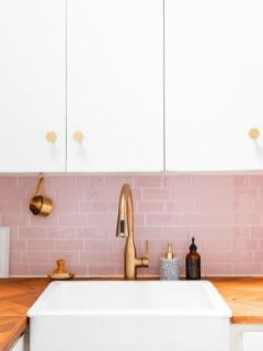 Affordable Kitchen Wall Tile Design Ideas To Try Right Now 22