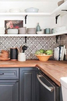 Affordable Kitchen Wall Tile Design Ideas To Try Right Now 25