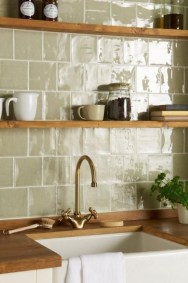 Affordable Kitchen Wall Tile Design Ideas To Try Right Now 31