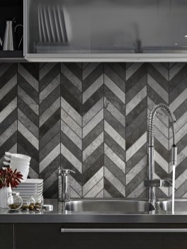 Affordable Kitchen Wall Tile Design Ideas To Try Right Now 34