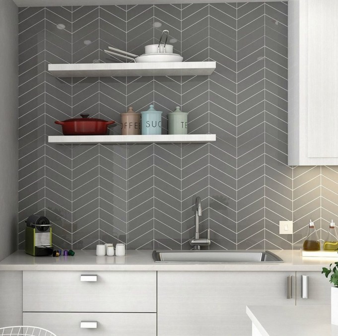 Affordable Kitchen Wall Tile Design Ideas To Try Right Now 37