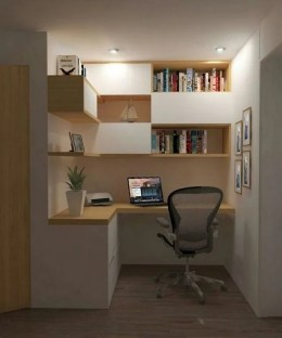 Astonishing Small Home Office Design Ideas To Try Today 31