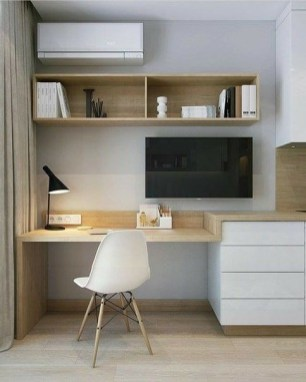 Astonishing Small Home Office Design Ideas To Try Today 43