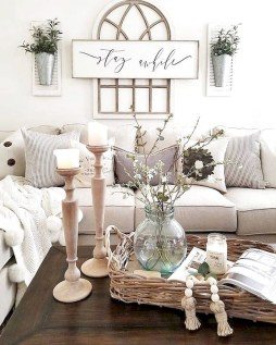 Comfy Farmhouse Living Room Decor Ideas To Try This Year 29