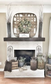 Comfy Farmhouse Living Room Decor Ideas To Try This Year 38