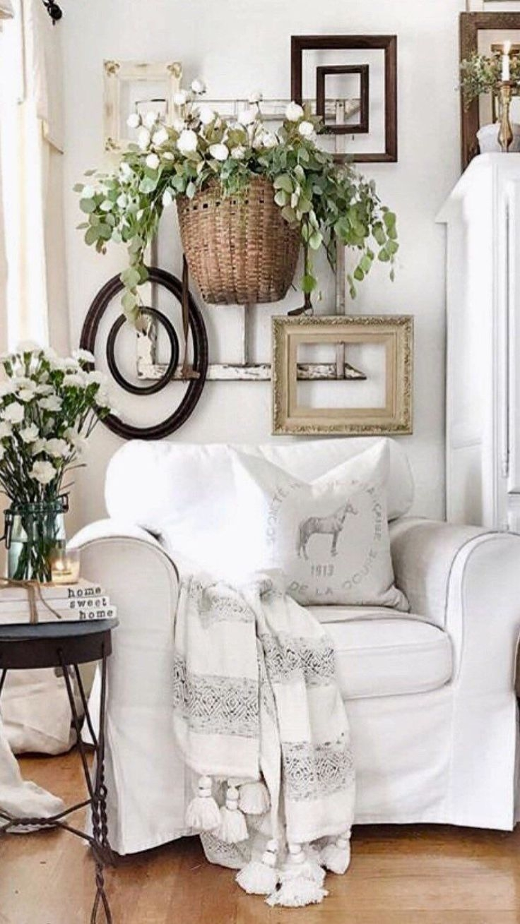 Comfy Farmhouse Living Room Decor Ideas To Try This Year 42