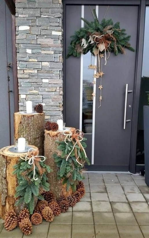Cozy Outdoor Christmas Decor Ideas To Have Asap 37