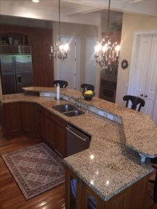 Creative Kitchen Island Design Ideas For Your Home 19