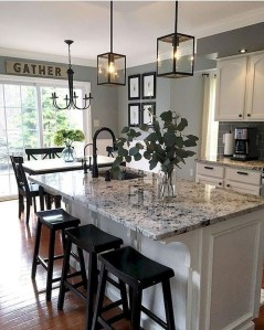 Creative Kitchen Island Design Ideas For Your Home 32