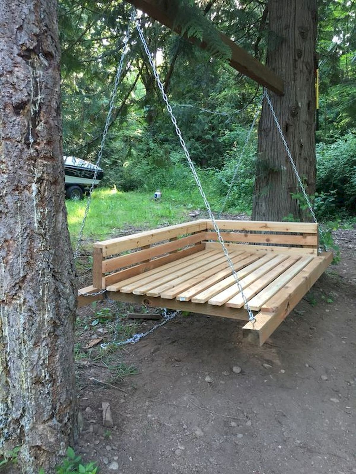 Creative Swing Chairs Garden Ideas That Looks Adorable 05