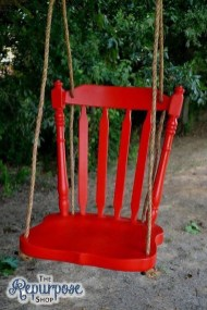 Creative Swing Chairs Garden Ideas That Looks Adorable 15