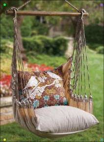 Creative Swing Chairs Garden Ideas That Looks Adorable 24