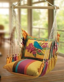 Creative Swing Chairs Garden Ideas That Looks Adorable 26