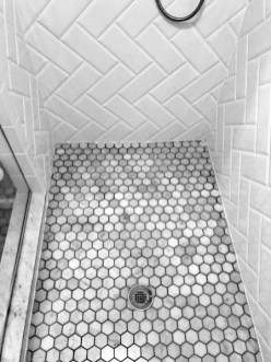 Enjoying Small Bathroom Floor Tile Design Ideas To Inspire You 23