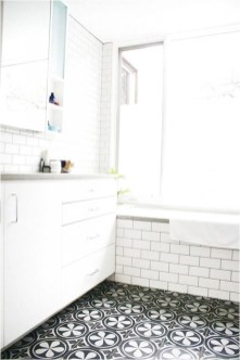 Enjoying Small Bathroom Floor Tile Design Ideas To Inspire You 31