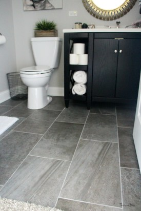 Enjoying Small Bathroom Floor Tile Design Ideas To Inspire You 43