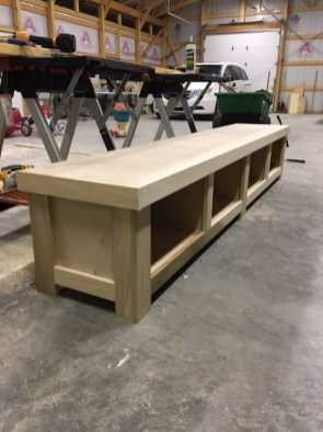 Latest Diy Storage Bench Design Ideas For Your Unique Living Room Decoration 24