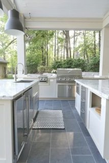 Luxury Outdoor Kitchen Design Ideas That Brings A Cleaner Looks 28