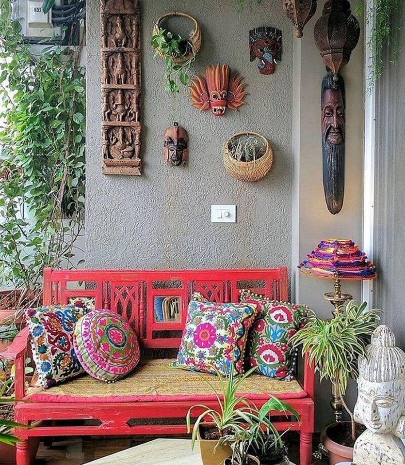 Pretty Bohemian Style Decorating Ideas For New And Reliable Inspirations 50