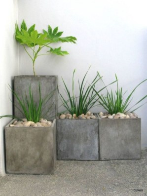 Relaxing Diy Concrete Garden Boxes Ideas To Make Your Home Yard Looks Awesome 43