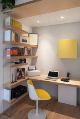 Unique Small Home Office Design Ideas To Try Asap 25