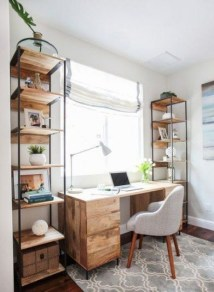 Unique Small Home Office Design Ideas To Try Asap 37