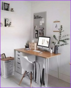 Unique Small Home Office Design Ideas To Try Asap 41