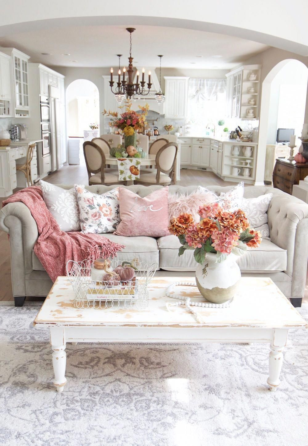 30 Beautiful French Country Living Room Decor Ideas To Copy Asap Gagohome