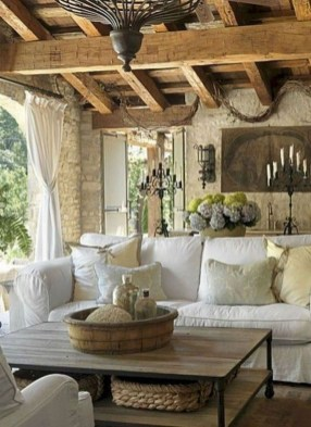 Beautiful French Country Living Room Decor Ideas To Copy Asap 35