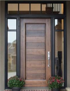 Best Wooden Door Design Ideas To Try Right Now 14