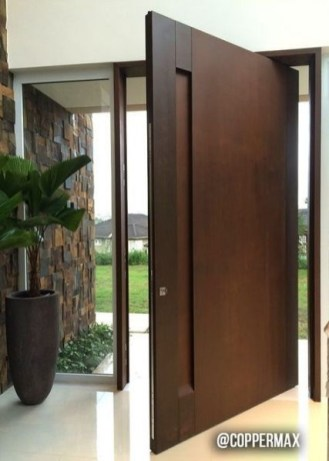 Best Wooden Door Design Ideas To Try Right Now 24