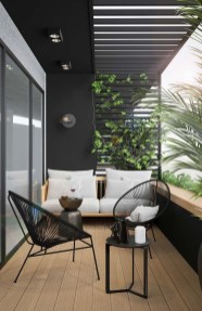 Comfy Apartment Balcony Decorating Ideas That Looks Awesome 13